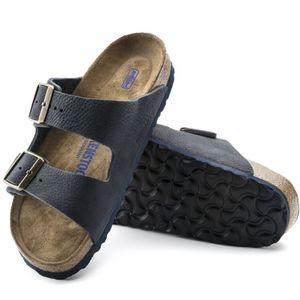 Birkenstock Arizona Steer Indigo Sandals 39